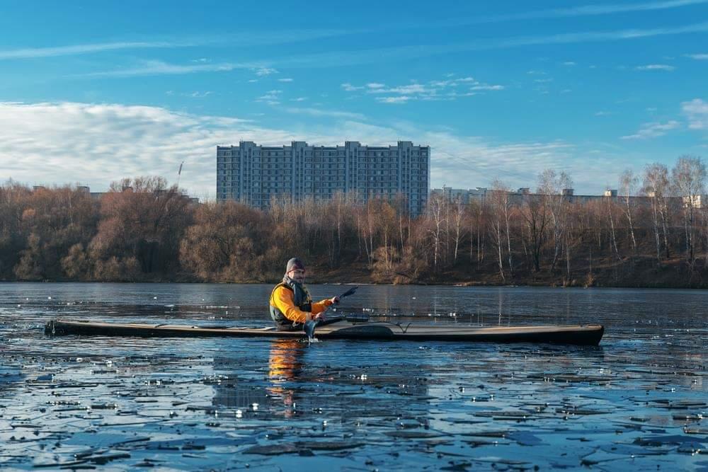 Каяк BTD Sea Racer - Moscow Eskimo Marathon 2018