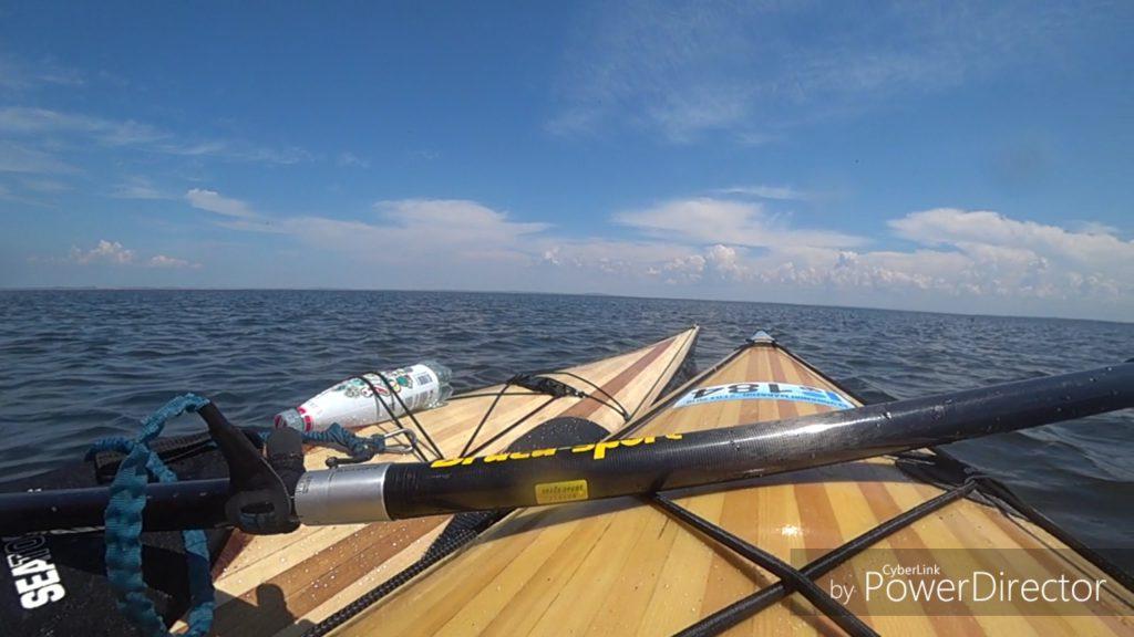 На каяках по Черному морю.