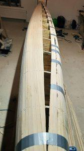 Постройка каяка Bjorn Thomasson Design - Sea Racer